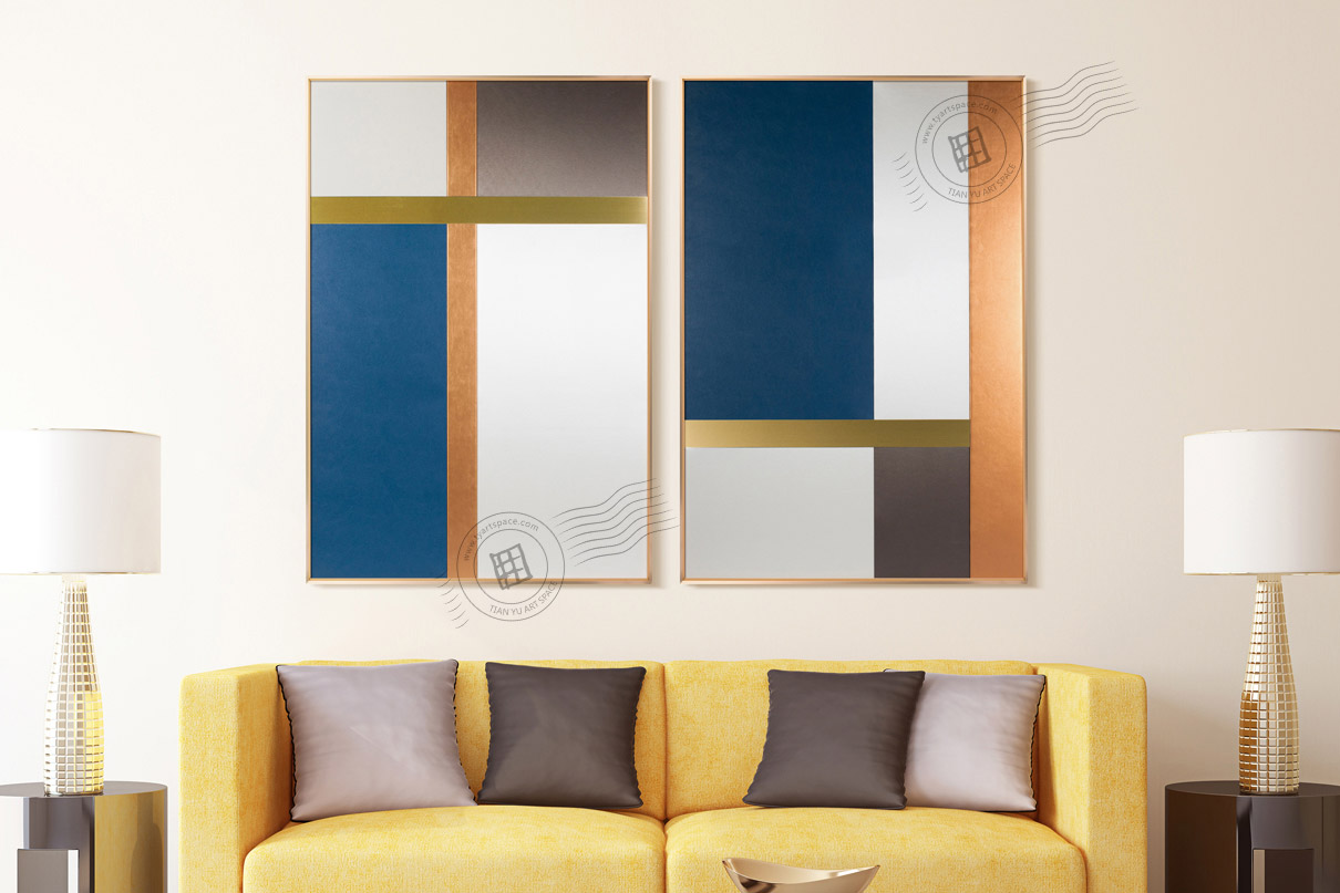 modern abstract artwork