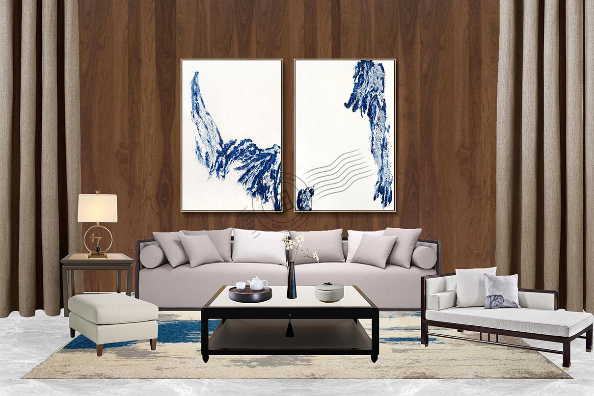 modern canvas painting