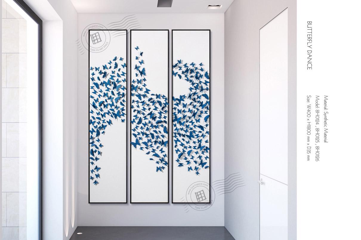 3 panels artwork