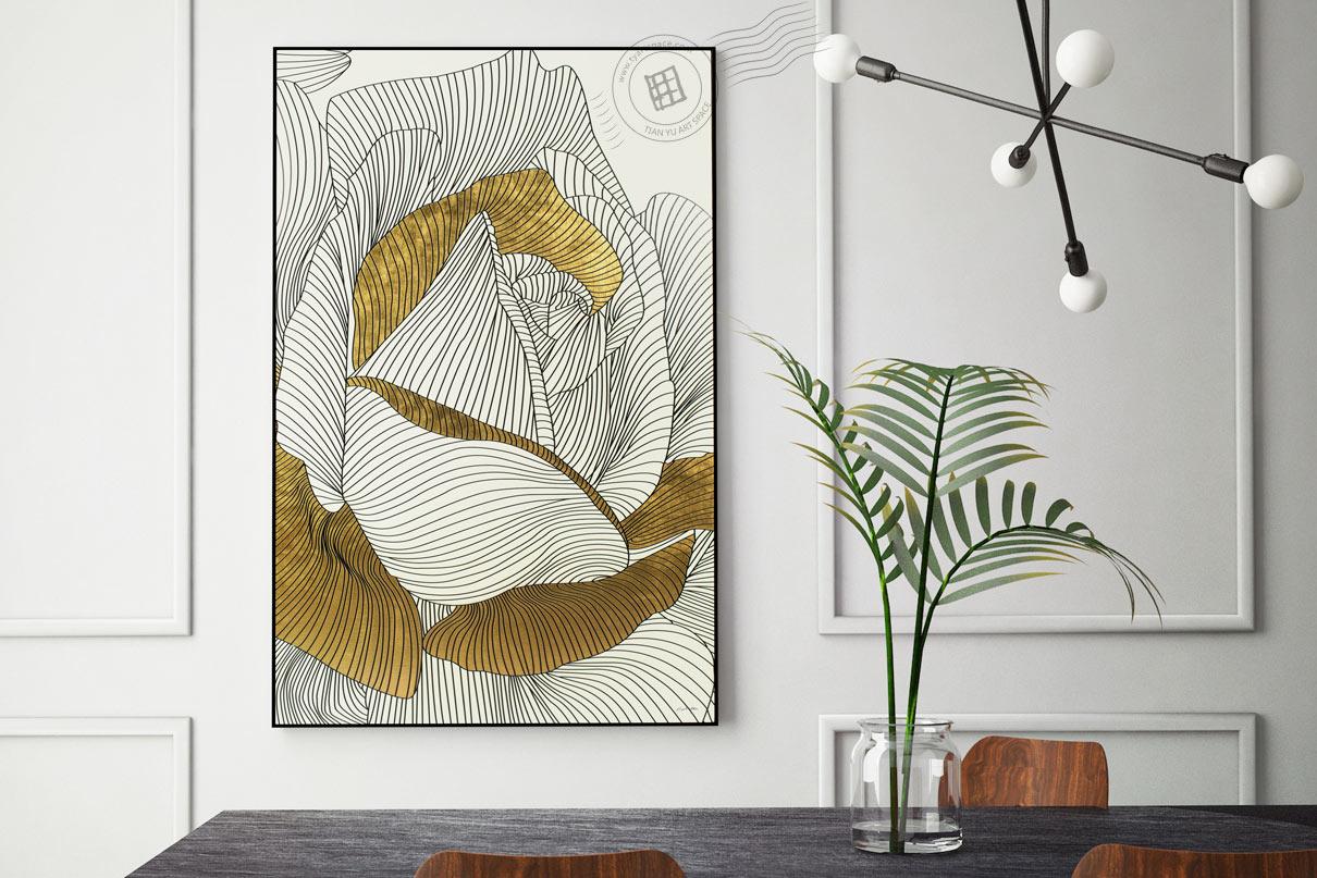 printed framed artwork