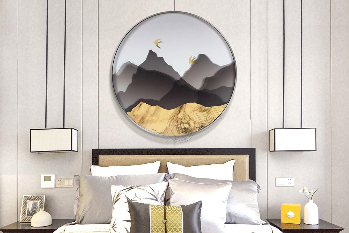 round decorative artwork
