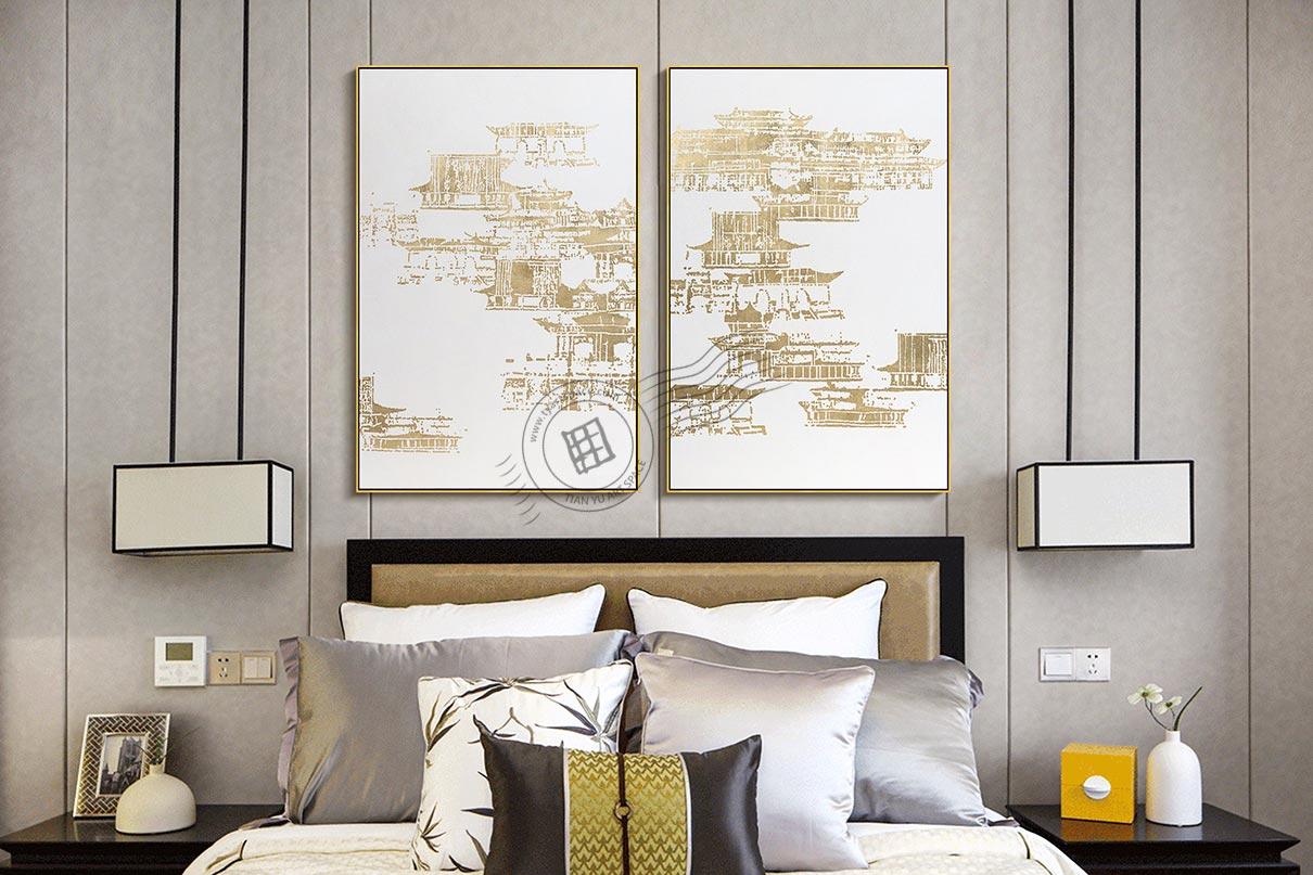 gold foil artwork